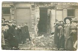 Vom Fliegerangriff Auf Luxembourg Le 24 MARZ 1918. - Cartes Postales