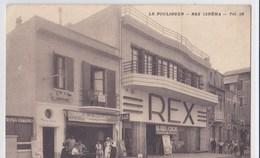 RARE Carte 1930 LE POULIGUEN / REX CINEMA - Le Pouliguen