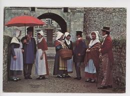 Turretot Groupe Foklorique Normand La Villotte (coiffes Costumes Parapluie) N° 223 - France