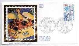 Enveloppe Premier Jour  / 20 ème Anniversaire CNES  ./  Toulouse / 15-5-82 - 1980-1989