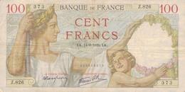 J26 - Billet 100 Francs - Type Sully - 1939 - 1871-1952 Anciens Francs Circulés Au XXème