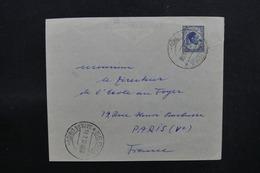LIBYE - Enveloppe De Sebha Pour Paris En 1952, Affranchissement Plaisant - L 51711 - Libya