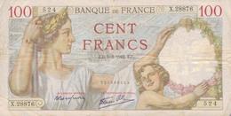 J26 - Billet 100 Francs - Type Sully - 1942 - 1871-1952 Anciens Francs Circulés Au XXème