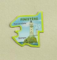 """Magnets. Magnets """"Le Gaulois"""" Départements Français. Finistère (29) - Altri"""