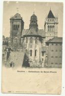 Cpa  SUISSE  .  Genève.  Cathédrale De Saint.Pierre - GE Genève