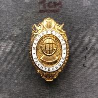 Badge Pin ZN008991 - Fencing (Fechten / Macevanje) Margarethner Fechtschule 1907 - Scherma