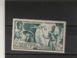 AEF Yvert PA 54 ** 75 ème Anniversaire UPU  Neuf Sans Charnière - A.E.F. (1936-1958)