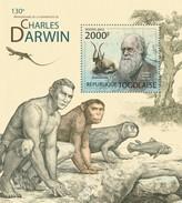 TOGO 2012 SHEET CHARLES DARWIN Tg12223b - Togo (1960-...)