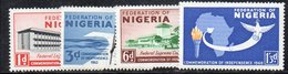 APR2309 - NIGERIA 1960, Serie Yvert N. 93/96  ***  MNH  (2380A)  Indipendenza - Nigeria (1961-...)