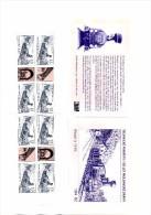 2015 Carnet YT C 772 De 8 Timbres Et 4 Vignettes 130 Ans De La Ligne De Chemin De Fer Moldau - Saxe - Neufs
