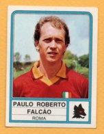 Figurina Panini 1983-84 - N° 215 Paulo Roberto Falcao, Roma - Tarjetas