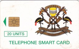 Uganda, UGA-11, 20 Units, Telecom Logo, 2 Scans . - Ouganda