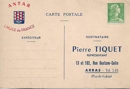 Carte Postale Antar. Arras - Publicité