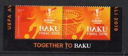 AZERBAIDJAN - 2019 - BAKU FINAL 2019 - TOGETHER TO BAKU - FOOTBALL - SOCCER - FUSSBALL - - Azerbaïdjan