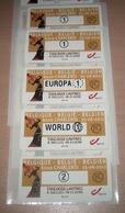 ATM (Automaatzegels) 134** Toulouse Lautrec In Elsene (à Ixelles) /  Côté 25.00€ Les 4 / MVTM (6000 Charleroi) - Bélgica