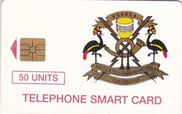 Uganda, UGA-14, 50 Units, Telecom Logo, 2 Scans . - Ouganda