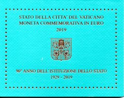 VATICANO - 2 EURO ISTITUZIONE DELLO STATO - ANNO 2019 - Vaticano (Ciudad Del)