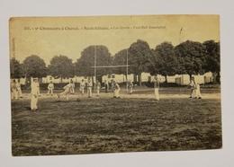 5ème Chasseurs à Cheval Les Sports. Football AssociationE8 - Neufchateau