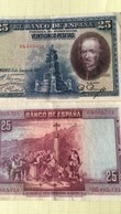 BILLET ESPAGNE 25 PESETAS - 1928 - Other
