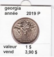 Pieces 1 Dollar 2019 P Innvation ( Georgia ) Dernier De 2019 - 2007-…: Presidents