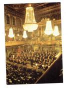 Cpm - Musikvereinssaal Salle De Concert à Vienne, Autriche - Orchestre Musiciens Violon Lustre Orgue Orgues Contrebasse - Musik Und Musikanten