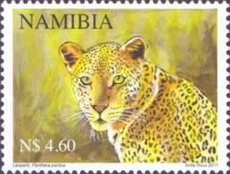 Namibia - Leopard (Panthera Pardus), Stamp, MINT, 2011 - Namibia (1990- ...)