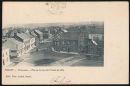 RANSART  PANORAMA  PRIS DE LA TOUR DE L'HOTEL DE VILLE - Charleroi