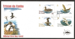 Saint Helena - Birds Definitive (Tristan Da Cunha), FDC, 2005 - St. Helena