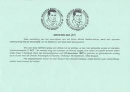 België - Dienstpostkaart - Bruxelles/Brussel - 60ste Album Michel Vaillant - (1997) - Matasellos De Cortesía