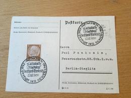 K8 Deutsches Reich 1939 Karte Mit Sst. München Leichtathletik Deutschland - Frankreich - Germania