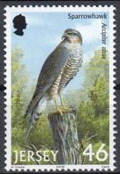 Jersey 2001 (MNH) (AVE076) - Eurasian Sparrowhawk (Accipiter Nisus) - Adler & Greifvögel