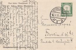 """Deutsches Reich / 1934 / Bild-Sonderpostkarte Mi. P 254 """"Bild 145-Zeitz, Moritzburg"""", Stempel Stralsund (5664) - Ganzsachen"""