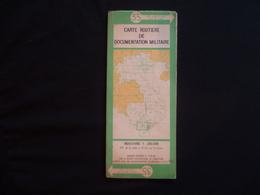 Carte Routière Indochine 1953 N°35 - Cartes Routières
