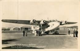 Dep - 69 - LYON PORT AERIEN DE BRON  Escale Du Quadrimoteur Commercial Italien 1936 - Bron