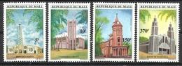 MALI  1997 CHURCHES  SET  MNH - Mali (1959-...)