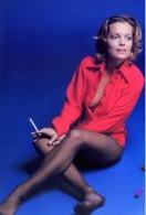 Film Stars - Romy Schneider  Postcard - RPPC Size: 15x10 Cm. Aprox. - Famous Ladies