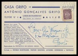 ALIJO - PUBLICIDADE - «CASA GRIFO»  De António Gonçalves Grifo.  Carte Postale - Vila Real