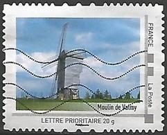 FRANCE ID TIMBRE LE MOULIN DE VALMY OBLITERE - Frankreich
