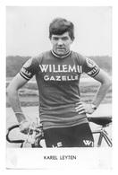 CARTE CYCLISME KAREL LEYTEN TEAM WILLEM II 1967 - Radsport