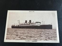S.G.T.M Paquebot «CAMPANA» - Passagiersschepen
