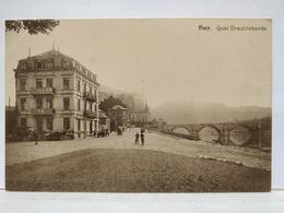 Huy. Quai Drautrebande. Hôtel Aigle Noir - Huy