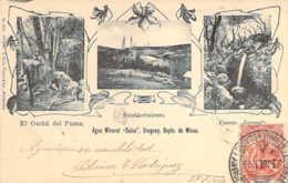 URUGUAY Agua Mineral Salus Establecimiento Y Fuente Juvens Sources Eau Minérale 1904 - Uruguay