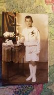 Vintage Original Photo  - Petit Garçon - Little Boy / Première Communion - Jeune Garçon - Personnes Anonymes