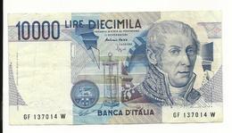 Italy 10000 Lire 1984 VF - [ 2] 1946-… : Republiek