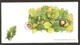 Guernsey - Europa Forests, FDC With Souvenir Sheet, 2011 - Europa-CEPT