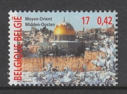 TIMBRE NEUF DE BELGIQUE - LE MOYEN-ORIENT (JERUSALEM) N° Y&T 2949 - Geschichte