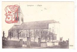 PK Otegem Zwevegem - Sint-Amanduskerk 1910 / Aan Pastorij Dranouter - Zwevegem