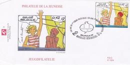 Enveloppe Cover Brief FDC 2841 Bande Dessinée Corentin - FDC