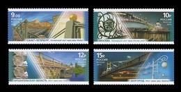 Russia 2011 Mih. 1733/36 Pedestrian Bridges MNH ** - Unused Stamps