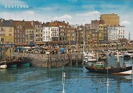 Oostende, Vissershaven Met Oa Vissersboten O718, 017  (pk66373) - Oostende
